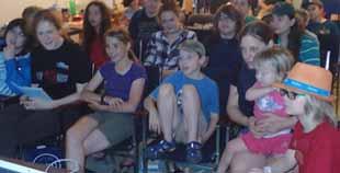 Photo of Macoun Club audience watching favourite movie