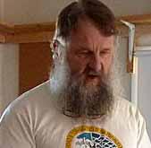 Photo portrait of Bruce Gill